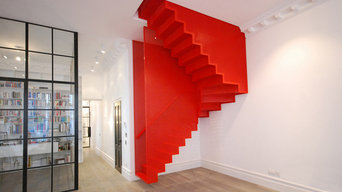 Hanging Red Staircase