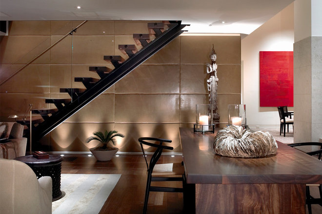 Contemporary Staircase by Rugo/ Raff Ltd. Architects
