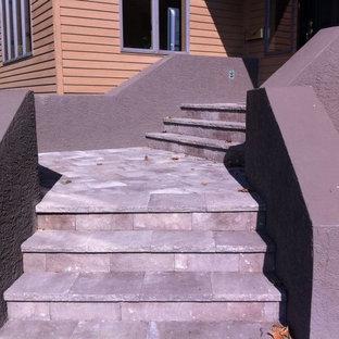 Hardscape Design - Concrete Step Overlay