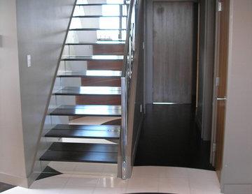 Hardwood Flooring on Staircases