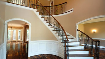 Hardwood Stair Case