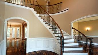 Hardwood Stair Case