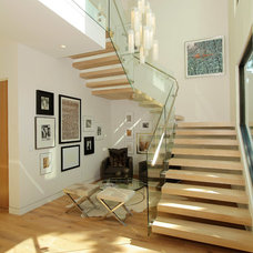 Contemporary Staircase by Light In Art