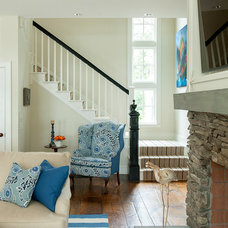 Beach Style Staircase by Banks Design Associates, LTD & Simply Home