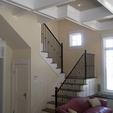 Traditional Staircase by DeWitt Architects