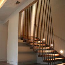 Modern Staircase by DeWitt Architects