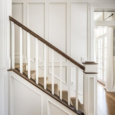 Traditional Staircase by Fox Group Construction