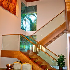 Contemporary Staircase by Steigerwald-Dougherty, Inc.