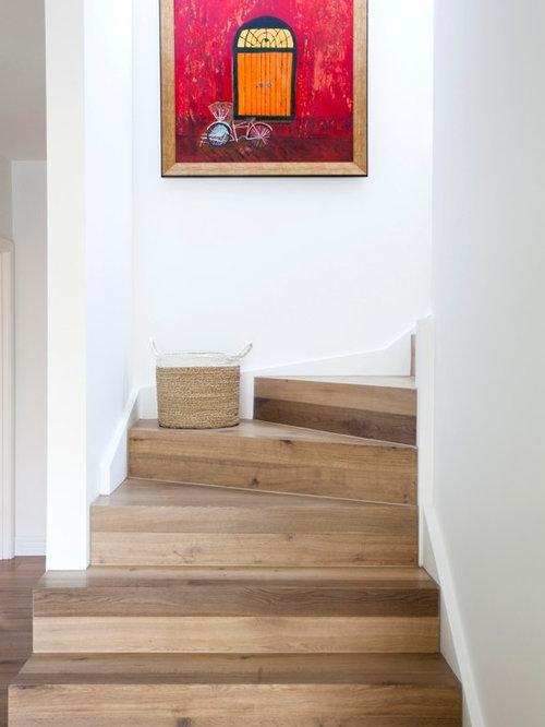 Treppenhaus im landhausstil melbourne   treppenhausgestaltung und ...