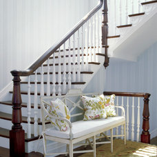 Traditional Staircase by Harrison Design Associates - DC