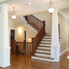 Craftsman Staircase by Brickmoon Design