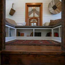 Rustic Staircase by Bosworth Hoedemaker