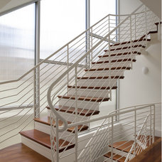 Beach Style Staircase by Robert Nebolon Architects