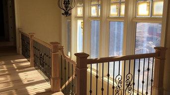 Hickory & Iron Staircase