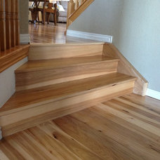 Traditional Staircase by Magnus Anderson Hardwood Floors