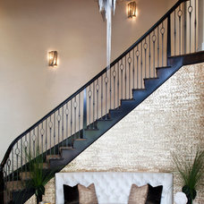 Contemporary Staircase by Smith Firestone Associates