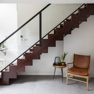 High end refurbishment of full house with bespoke kitchen and stairs