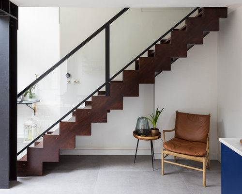 75 Most Popular Staircase Design Ideas For 2019: 75 Popular Straight Staircase Design Ideas