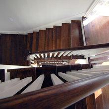 Beach house stairs/entrance