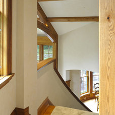 Contemporary Staircase by Marcus Gleysteen Architects
