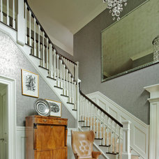Transitional Staircase by Mattera Construction Co., LLC