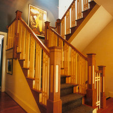 Craftsman Staircase by Penza Bailey Architects