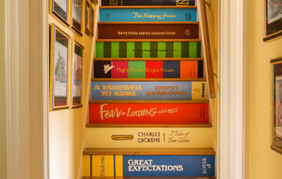 Decorating Ideas for Narrow Staircases