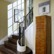 Traditional Staircase by AOME Architects