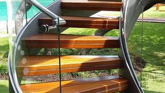 Hilton Head Island Exterior Stainless Steel Hand Railings