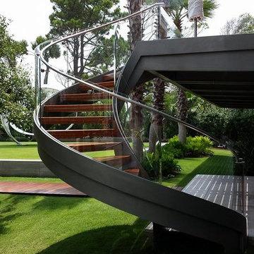 Hilton Head Island Stainless Steel Handrail