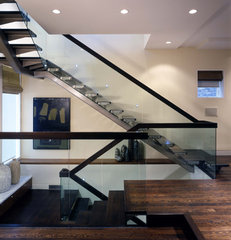 modern staircase by Hirsch Associates LLC
