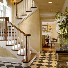 traditional staircase by Penza Bailey Architects