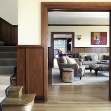 Traditional Staircase by Tommy Chambers Interiors, Inc.