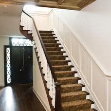 Traditional Staircase by Pine Street Carpenters & The Kitchen Studio