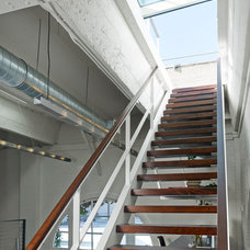 Industrial Staircase by Jeff King & Company