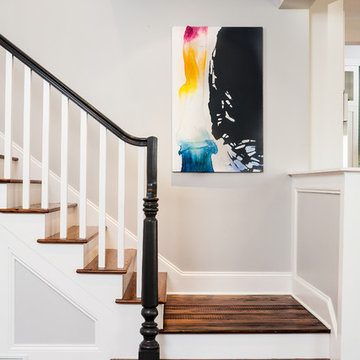 Historic Whole House Renovation - stairway