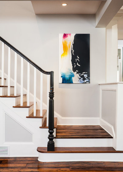 Traditional Staircase by Alair Homes Decatur