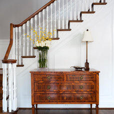 Traditional Staircase by Cahill Design Build