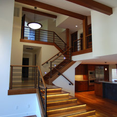 Contemporary Staircase by Integrate Architecture & Planning