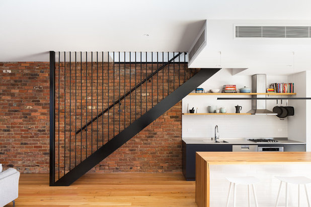 Industrial Staircase by S&A Stairs