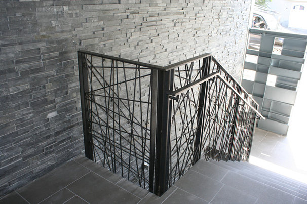 Contemporary Staircase by Five Twenty Two Industries
