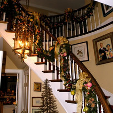 Traditional Staircase by Eclectic Design Source