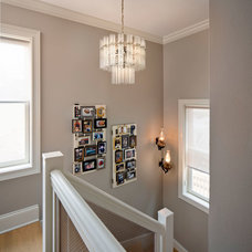 Transitional Staircase by Inspired Interiors