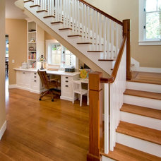 Traditional Staircase by Bruce Labins Architect & Associates