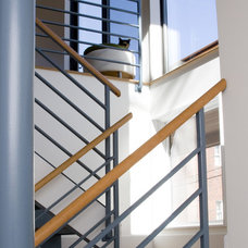 Contemporary Staircase by Boehm Architecture