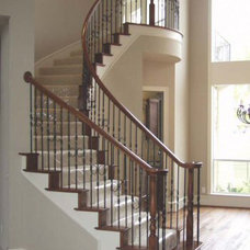 Traditional Staircase by Cheap Stair Parts