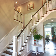 Traditional Staircase by Lady of the HOUSE interior design