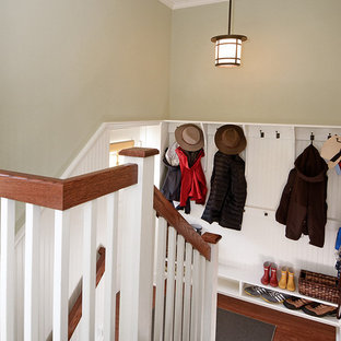 Staircase - traditional wooden u-shaped staircase idea in Baltimore