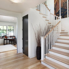 Traditional Staircase by James Witt Homes