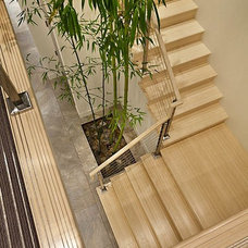 asian staircase by James Witt Homes